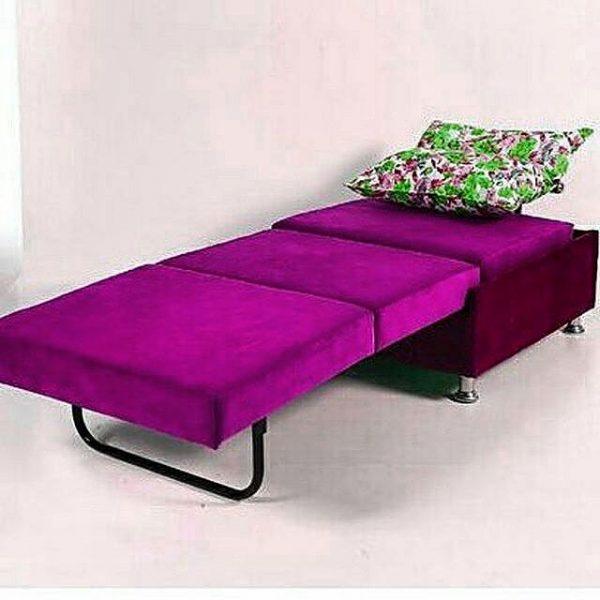 مبل تختخوابشو تک نفره مدل سزار