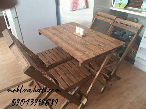 میز و صندلی غذا خوری کمجا